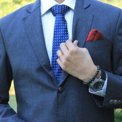 κοστούμι μπλε